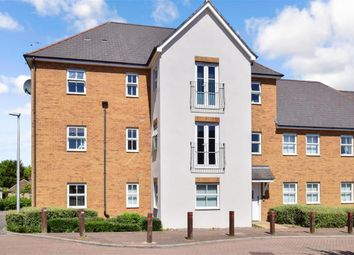 Thumbnail 2 bed flat for sale in Conqueror Drive, Gillingham, Kent