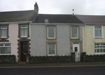 Thumbnail 3 bed terraced house for sale in Seaview Terrace, Penclawdd, Swansea