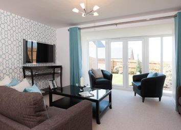 "Thumbnail 4 bed detached house for sale in ""Hexley"" at Halse Road, Brackley"