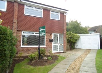 Thumbnail 3 bedroom semi-detached house to rent in Hendham Close, Hazel Grove, Stockport