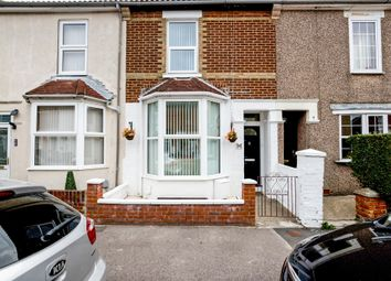 Thumbnail 2 bed terraced house for sale in Woodstock Road, Gosport