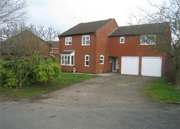 Thumbnail 5 bed detached house for sale in New Inn Close, Broughton Astley, Leicester