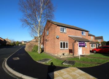 Thumbnail 2 bed semi-detached house to rent in Riverside Walk, York