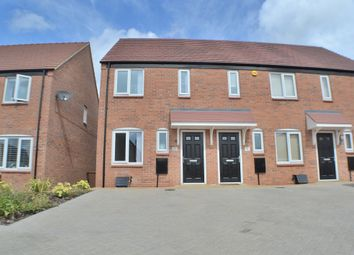 Thumbnail 2 bed semi-detached house to rent in Kingsgate Road, Chellaston, Derby