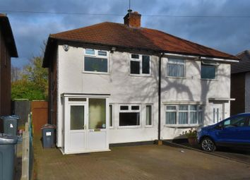 Thumbnail 2 bedroom semi-detached house for sale in Spring Road, Tyseley, Birmingham