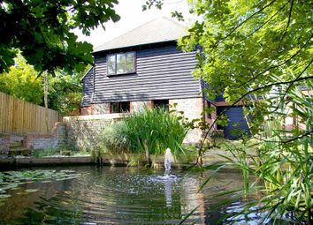 Thumbnail 4 bed detached house for sale in Chapel Barn, Vicarage Road, Hailsham