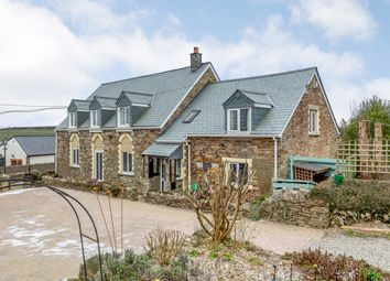 Thumbnail 5 bed country house for sale in West Taphouse, Lostwithiel, Cornwall