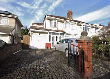 Thumbnail 4 bed semi-detached house for sale in Court Hey Avenue, Roby, Liverpool