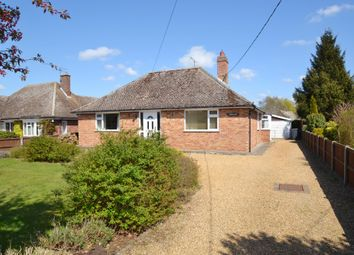 Thumbnail 3 bedroom detached bungalow to rent in Thurston Road, Great Barton, Bury St. Edmunds
