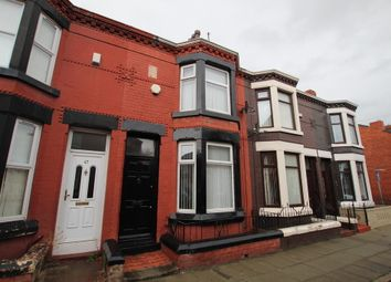 Thumbnail 3 bed terraced house to rent in Cowley Road, Liverpool