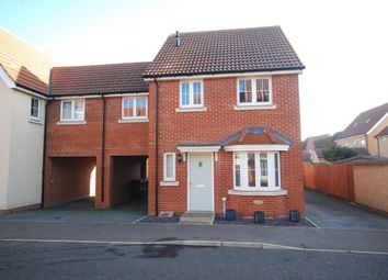 Thumbnail 3 bed link-detached house for sale in Jasmine Road, Red Lodge, Bury St. Edmunds