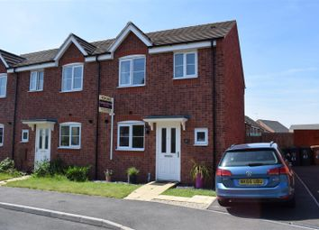 Thumbnail 3 bed town house for sale in Davenport Way, Woodville, Swadlincote
