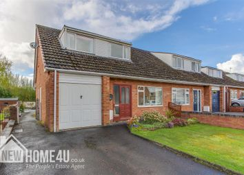 Thumbnail 3 bedroom property for sale in Bron Y Nant, Mold