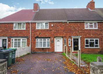 Thumbnail 3 bed terraced house for sale in Carrington Road, Wednesbury