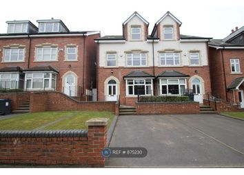 Thumbnail 4 bed terraced house to rent in Vernon Road, Edgbaston, Birmingham