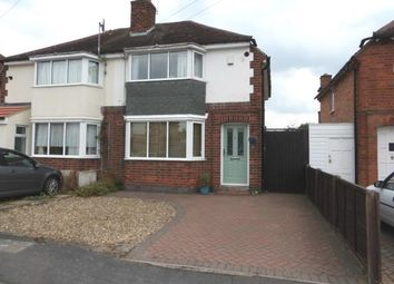 Thumbnail 3 bed semi-detached house for sale in Paget Avenue, Birstall, Leicester, Leicestershire