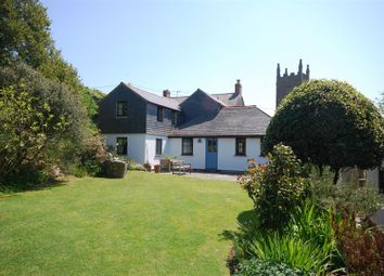 Thumbnail 4 bed detached house for sale in Churchtown, St. Levan, Penzance