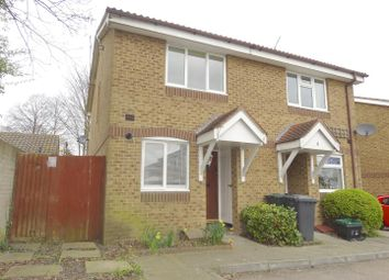 Thumbnail 2 bedroom semi-detached house for sale in St. Pauls Close, Swanscombe