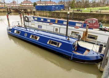 Thumbnail 1 bed houseboat for sale in Three Mill Lane, London