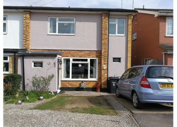 Thumbnail 4 bed semi-detached house for sale in Woodside Chase, Hockley