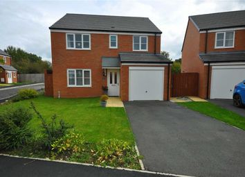 Thumbnail 4 bedroom detached house for sale in Ffordd Brannan, Buckley