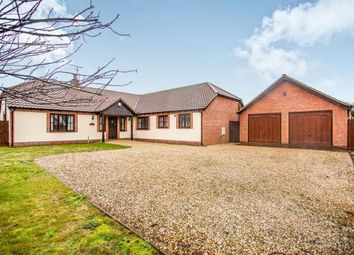 Thumbnail 4 bed bungalow for sale in Common Road West, Snettisham, Norfolk