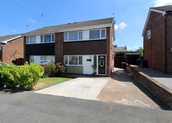 Thumbnail 3 bed semi-detached house for sale in Cambourne Close, Adwick-Le-Street, Doncaster