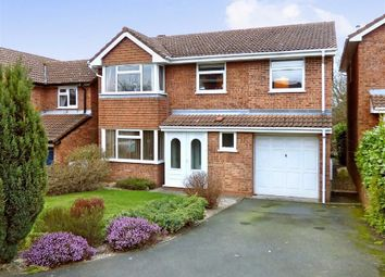 Thumbnail 6 bed detached house for sale in St Patrick Close, Cannock, Staffordshire