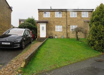 Thumbnail 3 bed semi-detached house for sale in Lawrence Close, Amesbury, Salisbury