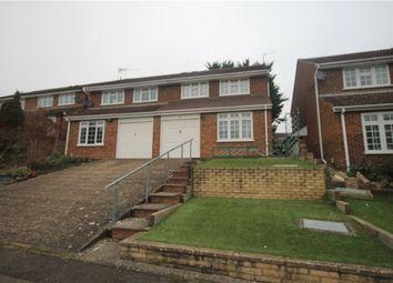 Thumbnail 4 bed semi-detached house for sale in Paul Close, Aldershot, Hampshire