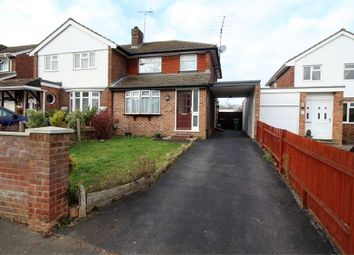 Thumbnail 3 bed semi-detached house for sale in Skilton Road, Tilehurst, Reading, Berkshire
