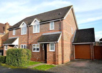 Thumbnail 3 bed semi-detached house for sale in Mallard Way, Aldermaston, Reading, Berkshire