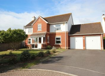 Thumbnail 4 bed detached house for sale in Albion Close, Seaton