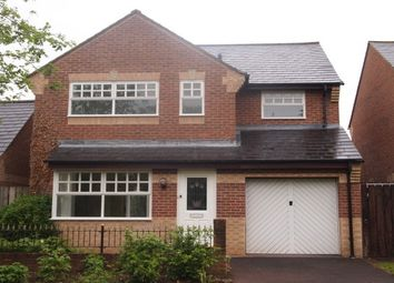 Thumbnail 4 bed detached house to rent in Weirfield Green, Taunton