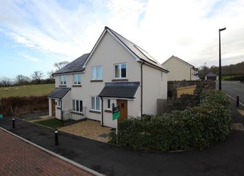 Thumbnail 3 bed semi-detached house for sale in St. Davids Park, Llanfaes, Brecon