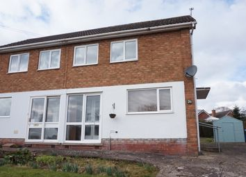 Thumbnail 3 bed semi-detached house for sale in Skidmore Avenue, Dosthill, Tamworth