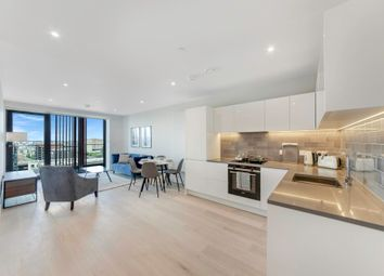 Thumbnail 1 bedroom flat to rent in Marco Polo Tower, Royal Wharf, London
