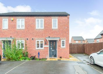 Thumbnail 2 bed semi-detached house for sale in Silkstone Road, Featherstone, Pontefract