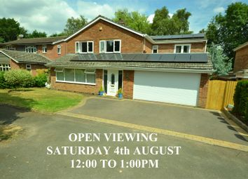 Thumbnail 5 bed detached house for sale in Hollies Way, Bushby, Leicester