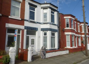 Thumbnail 3 bed terraced house to rent in Kimberley Road, Wallasey