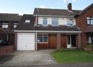Thumbnail 4 bed property to rent in Taunton Avenue, Wolverhampton