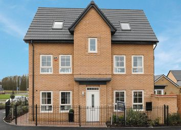 "Thumbnail 4 bed detached house for sale in ""Hexley"" at Carters Lane, Kiln Farm, Milton Keynes"