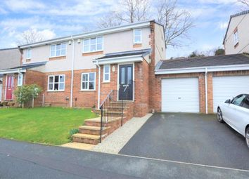 Thumbnail 3 bed semi-detached house for sale in Pollards Way, Saltash, Cornwall