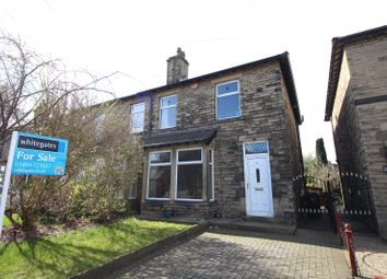 Thumbnail 3 bed semi-detached house for sale in Lightcliffe Road, Brighouse, West Yorkshire