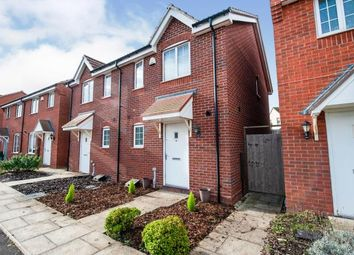 Thumbnail 2 bed semi-detached house for sale in Codling Road, Evesham, Worcestershire