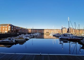 Thumbnail 1 bed flat to rent in Victoria Quay, Marina, Swansea.