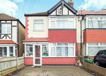 Thumbnail 3 bed semi-detached house for sale in Churchill Road, Cheam, Surrey