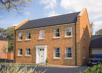 "Thumbnail 4 bed detached house for sale in ""The Montpellier"" at Oak Leaze, Patchway, Bristol"