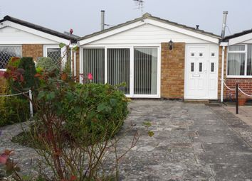 Thumbnail 1 bed terraced bungalow to rent in Martello Close, Alverstoke, Gosport
