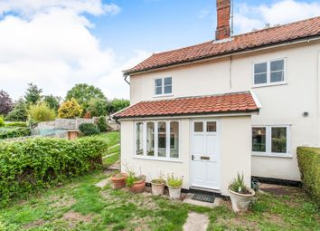 Thumbnail 2 bedroom property for sale in The Street, Brockdish, Diss
